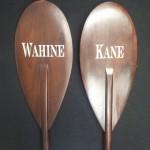 Engraved Paddles, Canoe Paddles