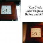 Koa, Koa Gift, Koa Clock, Engraved Koa Trophy, Koa Awards, Koa Wood, Koa Maui