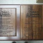 Plaque, Walnut Plaque, Award Plaque, Maui, Emura's, Hawaii