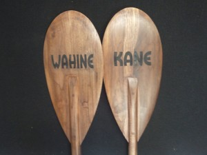 Engraved paddles